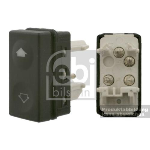 Schalter Fensterheber für Komfortsysteme FEBI BILSTEIN 37489